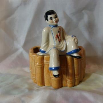 Vintage Mid-Century CERAMIC ARTS STUDIO Oriental Boy